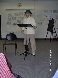 Poet, Barney Oldfield