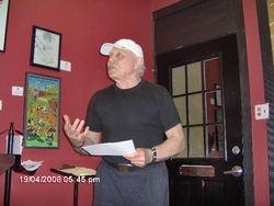 Poet, Ted Gladue