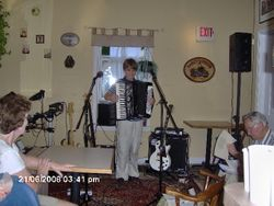 Accordian Player, Peter Cipolone