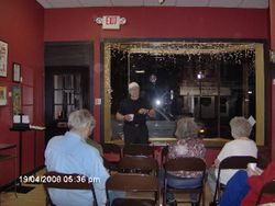 Poetry at The Lucky Star Art Gallery