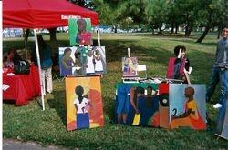 Artist at Park