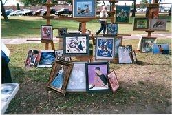 Mr. Capra, Artist at Park