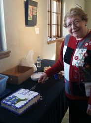 Iris Davis Celebrates 90 years