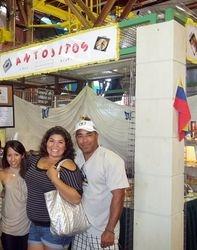Oriana visiting from Puerto Cabello, Edo. Carabobo