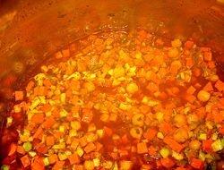 Zanahorias, Garbanzos  en un guiso espectacular!