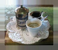 Coffee at Antojitos