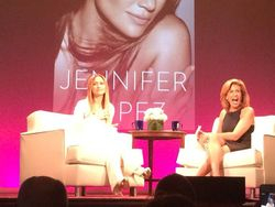 Jennifer Lopez and Hoda Kotb