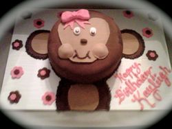 Sweet Darlin' Monkey Cake