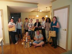 Gift bags compliments of Regis Salons!