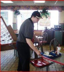 Tom at Burger King