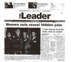 2006 Women Veterans Tribute Article