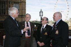 Bob Russell MP meets team