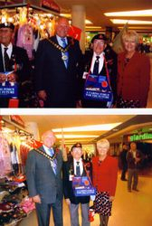 Roy at Havering Poppy Appeal Launch