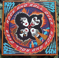 Rock & Roll Over Record - 1976
