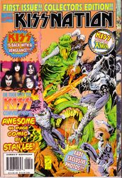 First KISSNATION issue (Collectors Edition)