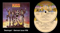 Destroyer LP - German Issue 1976