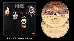 KISS LP - German Issue 1974