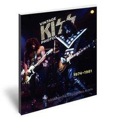 Photo book: Vintage KISS Photo's - 1974 - 1981