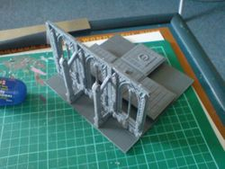 how to make a 3d space hulk board 7