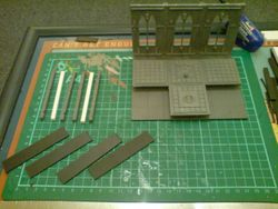 how to make a 3d space hulk board 8