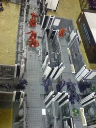 3D Space Hulk Board in action