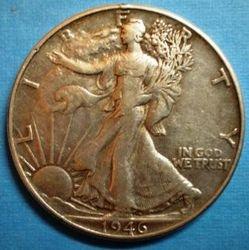 1946 Wlker Half Dollar