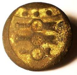 Royal Regiment Artillery Officer's Button Circa 1795