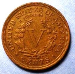 1910 Liberty Head Nickel