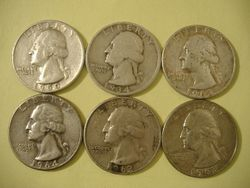 Silver Coins From My Yard.