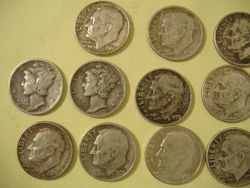 More Silver Coins From My Yard.