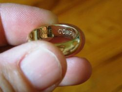 Men's Gold Wedding Band Recovered and Returned