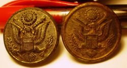 Scovill Military Buttons- Early 20th Century