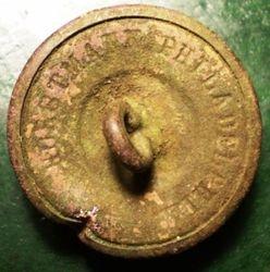 Virginia Militia Button Back Mark