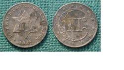 1851 Three Cent Piece