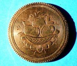 Mid-19th Century Gold Brooch