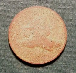 Flying Eagle Cent From Old Farm Field