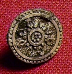 Colonial Era Button