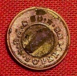 12mm Button circa 1830