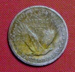 Reverse of 1917 SLQ