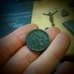 1851 Half Cent