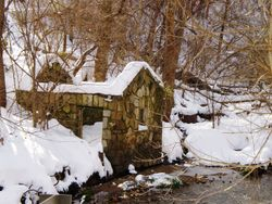1740's Mill in Winter