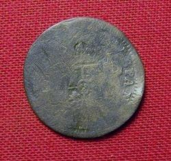 1773 Corolus III Half Reale Reverse