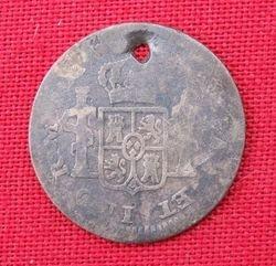 1776 Half Reale Mexico City Mint - Reverse