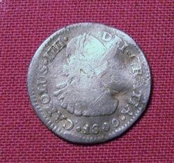 1800 Corolus IIII Half Reale