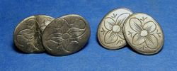 Two Cufflinks found within two hundred feet of each other!