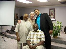 Pastor Herman, Bruce, Roger & Anthony