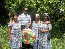 Pastor & family