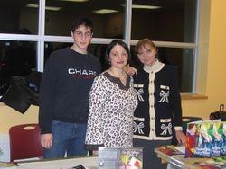 Mauro Jr., Maria Pia and Flavia