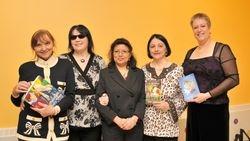 Flavia, Linda, Cheryl, Maria Pia and Saskia