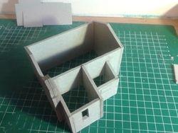 Aanbouw zijkant